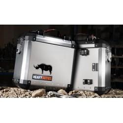 Compleet 48 liter koffersysteem Honda African Twin RD-07(A) XRV-750 na '93