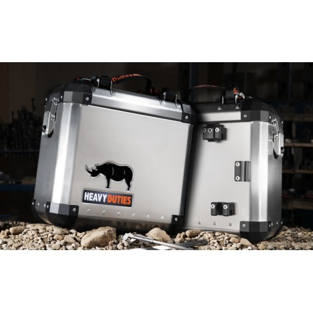 Compleet 39 liter koffersysteem BMW F700GS & F800GS
